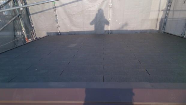 加古川市K邸 日本瓦→ カラーベスト 屋根リフォーム工事 屋根葺き替え後の写真