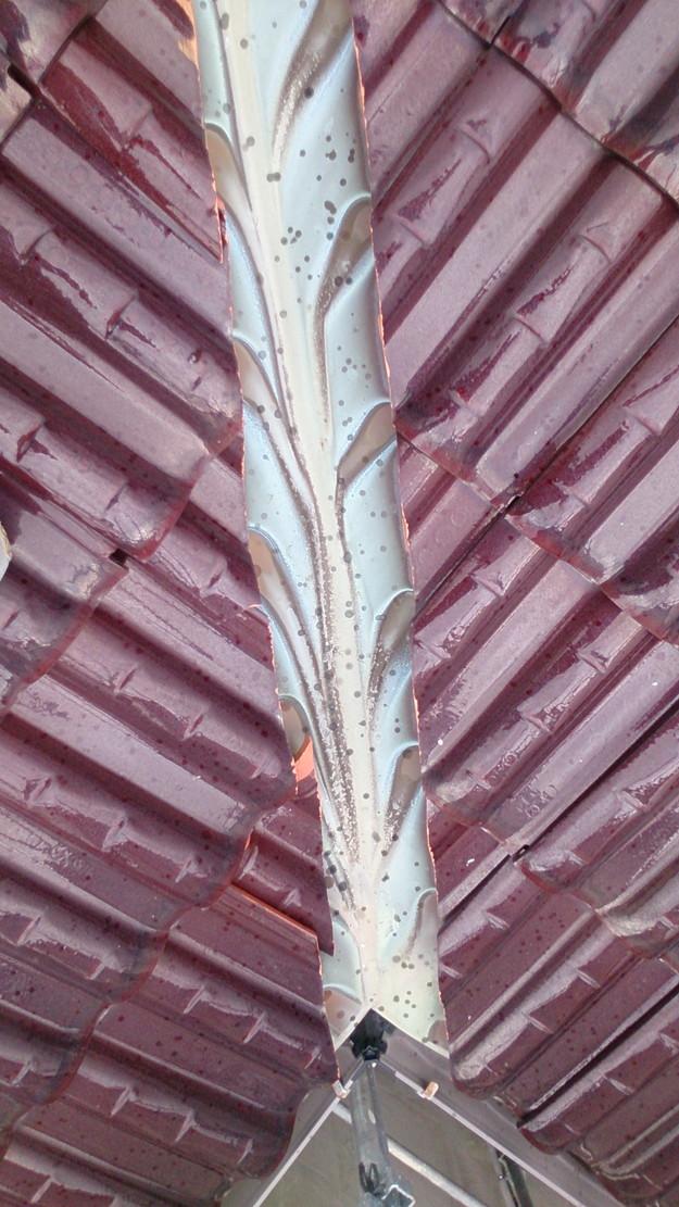 1施工前屋根状況写真雨漏り点検201410H