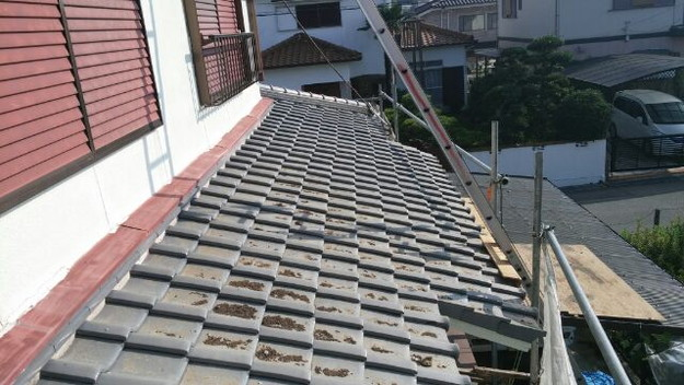 1施工前屋根状況写真201409C
