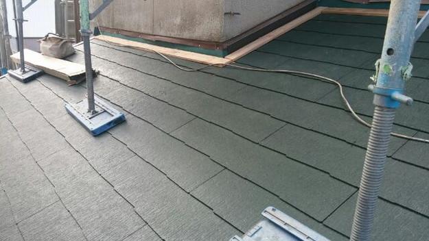 10屋根葺き替え後
