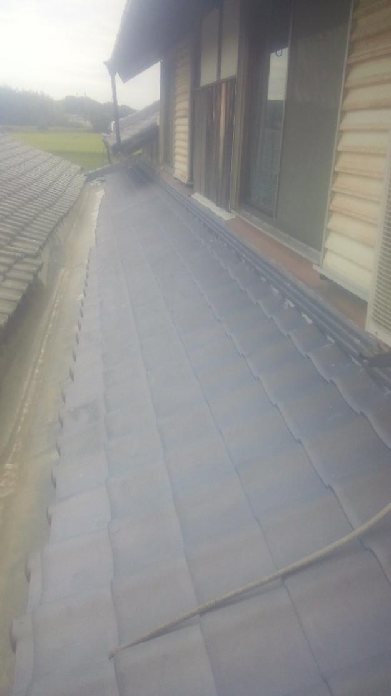 10屋根葺き替え作業