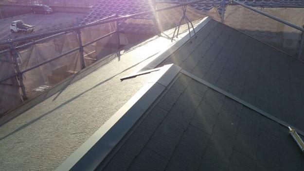 12屋根葺き替え後