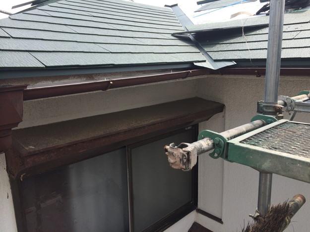 18屋根葺き替え作業201407明石市B