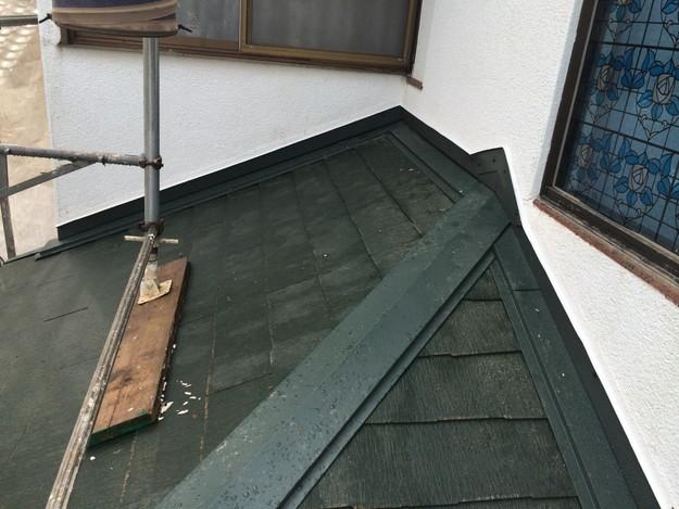 19屋根葺き替え作業201407明石市B