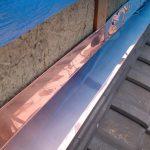 兵庫県明石市 屋根修理(板金工事、漆喰工事)2014年