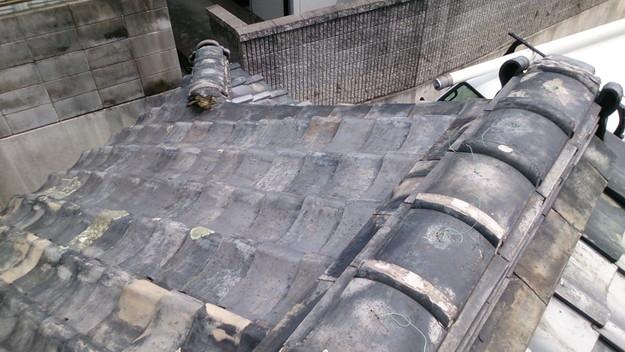 3施工前屋根状況写真201408三木市A