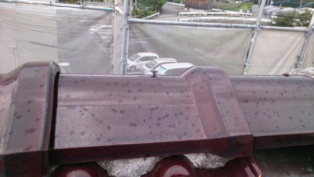 4施工前屋根状況写真雨漏り点検201410H