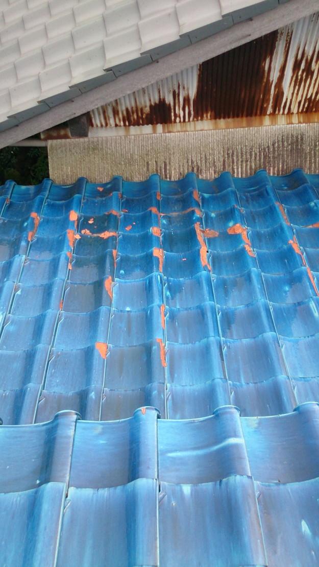 4施工前屋根状況写真201411Pb
