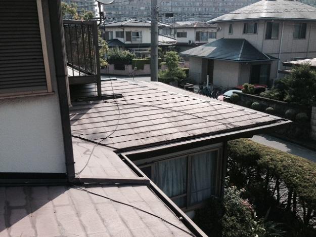 5施工前屋根状況写真201407加古川A