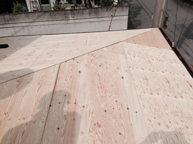 6屋根下地補強修理作業201407加古川A