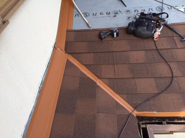 8屋根板金取り付け作業201407加古川A