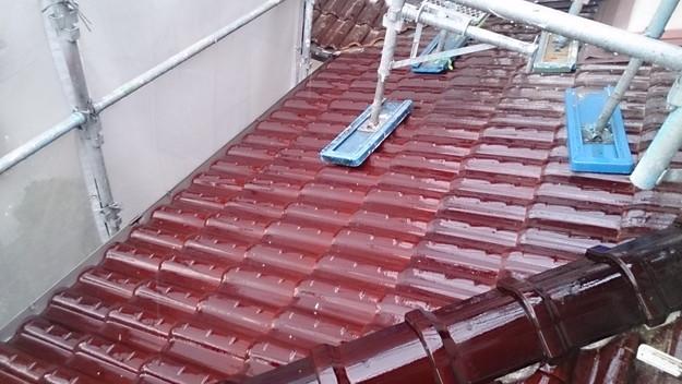 8施工前屋根状況写真雨漏り点検201410H