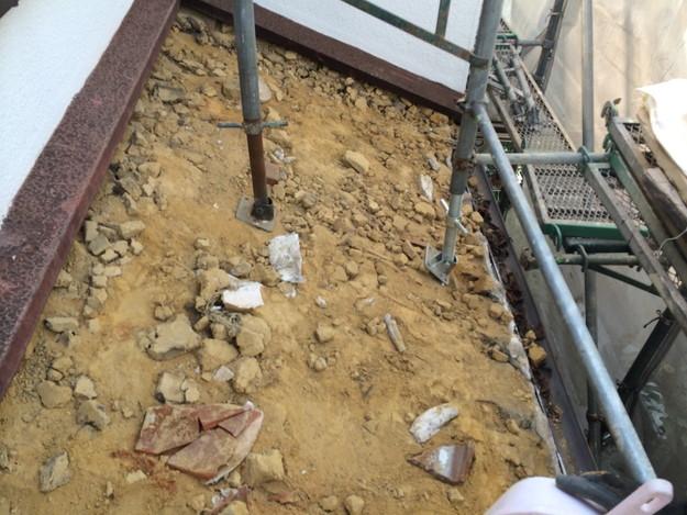9既存瓦撤去作業201407明石市B