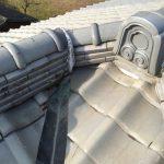 雨漏り修理 漆喰工事 板金修理 屋根換気 姫路市 2015年1月