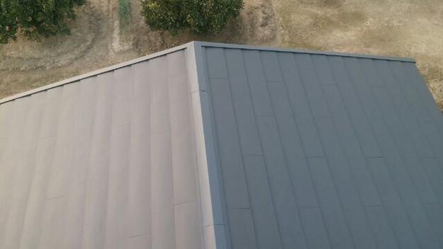 1423483668277屋根リフォーム工事葺き替え作業完成