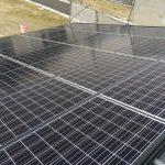 屋根一体型太陽光ソーラーパネル取付け 新築屋根工事