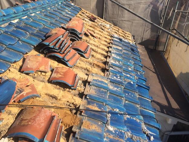 1425636689350既存屋根撤去作業