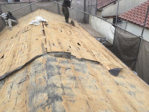 1425636717331既存屋根撤去作業