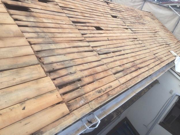 1425636732886既存屋根撤去作業