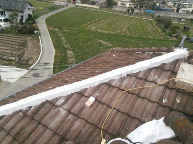 142710235220屋根棟瓦設置前作業0