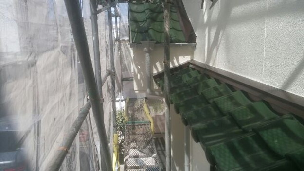 1427505134051屋根リフォーム前 屋根工事写真 明石市。
