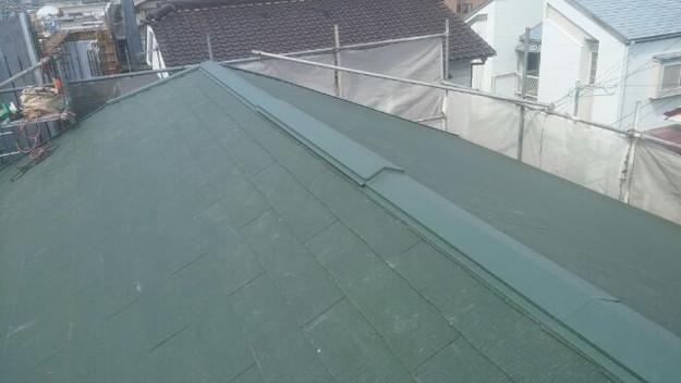1427505327835屋根裏換気システム部 屋根リフォーム工事写真 明石市。