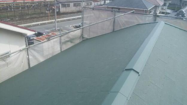 1427505351064屋根リフォーム完了 屋根リフォーム工事写真 明石市。