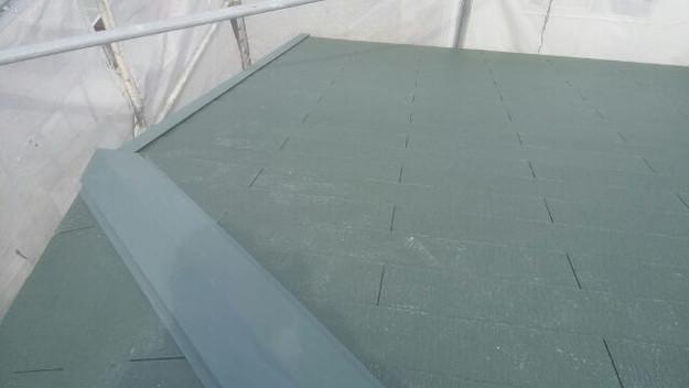1427505359560屋根リフォーム完了 屋根リフォーム工事写真 明石市。