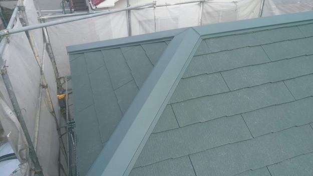 1427505371677屋根リフォーム完了 屋根リフォーム工事写真 明石市。