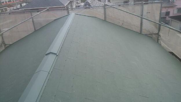 1427505430668屋根リフォーム完了 屋根リフォーム工事写真 明石市。