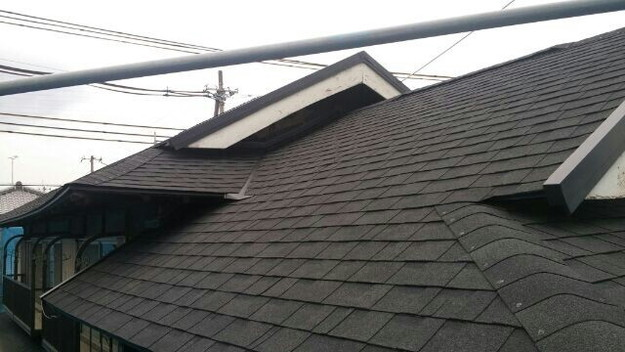 1427521747285新設屋根材取付作業 屋根リフォーム工事 加古川市