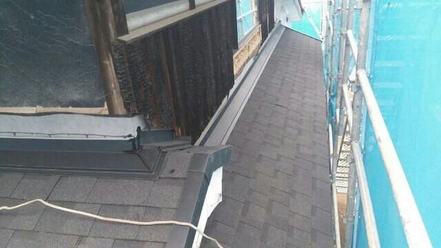 1427521749083新設屋根材取付作業 屋根リフォーム工事 加古川市