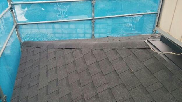 1427521750733新設屋根材取付作業 屋根リフォーム工事 加古川市