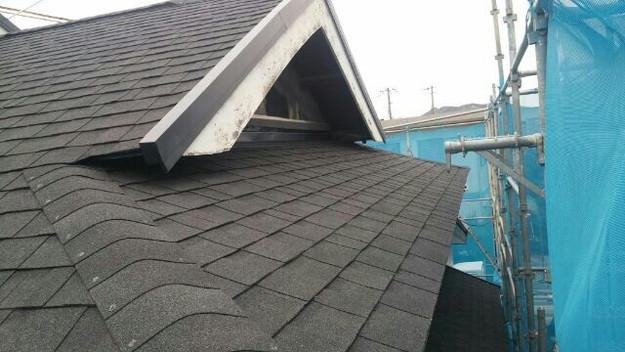 1427521752623新設屋根材取付作業 屋根リフォーム工事 加古川市