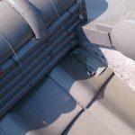 雨漏り修理・雨漏り点検  雨漏りの原因となる箇所の写真 明石市