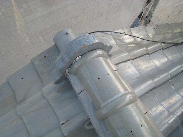 IMG_0335鬼瓦修理前 屋根修理 姫路市の写真
