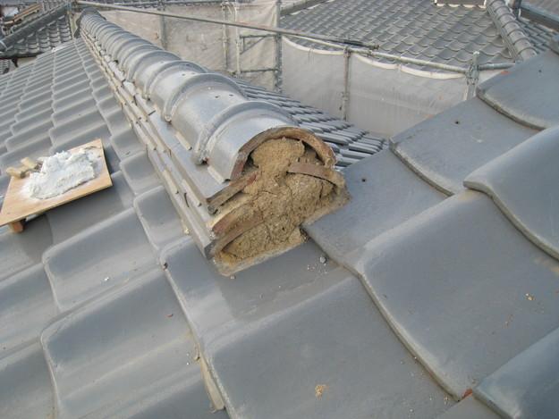 IMG_0336修理中 屋根修理 姫路市の写真
