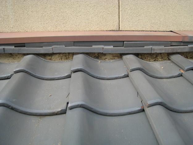 IMG_0344漆喰修理中 屋根修理 姫路市の写真