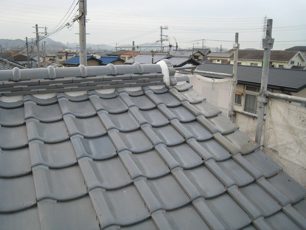 IMG_0347修理完了 屋根修理 姫路市の写真