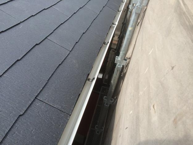 カラーベスト屋根葺き替えリフォーム工事完成写真1429233377574