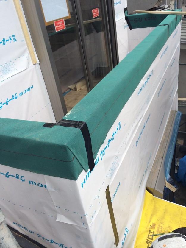 ベランダ回り外壁サイディング工事1430706655787
