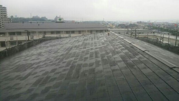 マンション屋根リフォーム工事前1432211838124