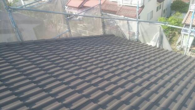 リフォーム工事後の屋根1430742210137
