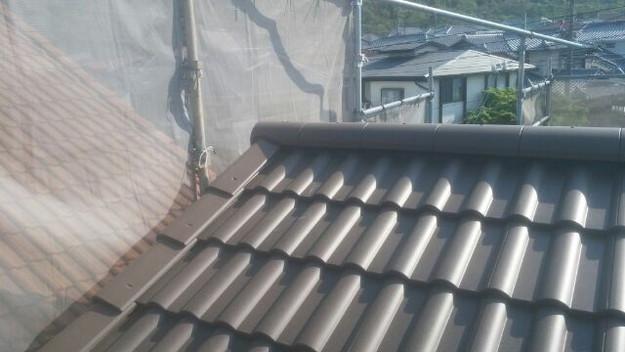 リフォーム工事後の屋根1430742222155