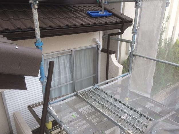 リフォーム後の屋根と雨樋1430791524077