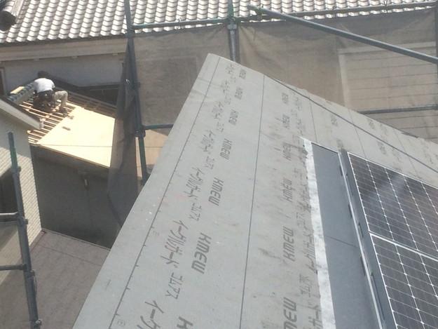 太陽光ソーラーパネル設置新築屋根工事1432733542260