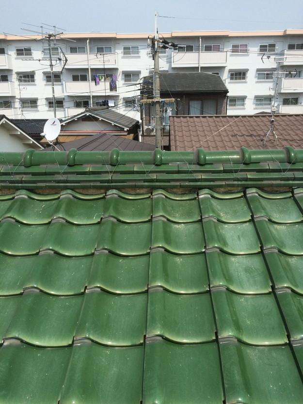 屋根ズレ防止、台風対策工事ラバーロック屋根補強工事1429233529601