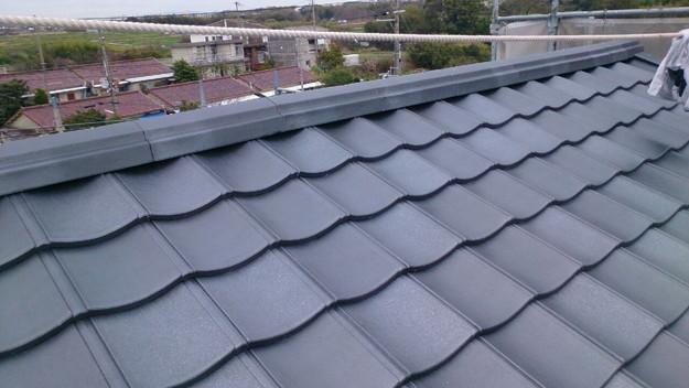 屋根リフォーム完成1430704587946