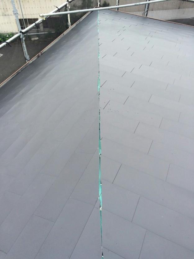 屋根リフォーム工事カバー工法ガルバリウム屋根金属製敷設1432211877167