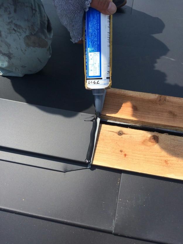 屋根リフォーム工事カバー工法ガルバリウム屋根金属製敷設1432211882764